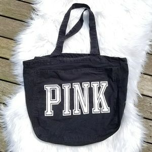 VS PINK Black Tote